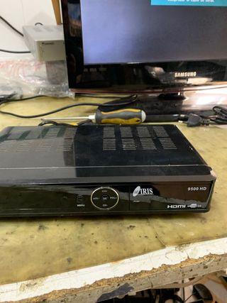 Receptor satélite Iris 9500HD