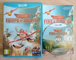 Aviones Equipo de Rescate Wii U