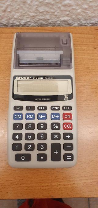 calculadora en funcionamiento