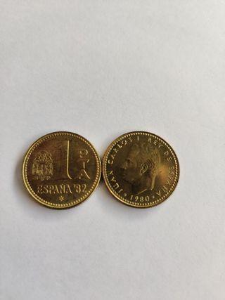 moneda 1 peseta 1982