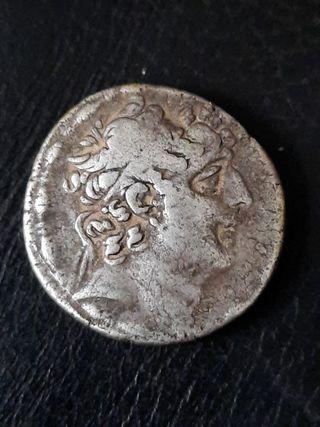 auténtico tetradracma griego de plata philadelphos