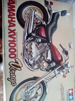 Maqueta Yamaha de Tamiya