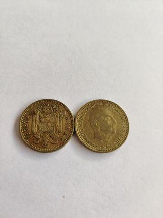1 peseta Francisco franco