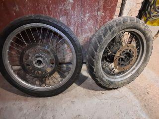 Ruedas Kawasaki KLX 650