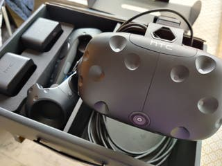 Kit Gafas realidad virtual HTC Vive + Deluxe Audio