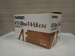 TAMRON AF70-300 F4-5.6 PARA CANON