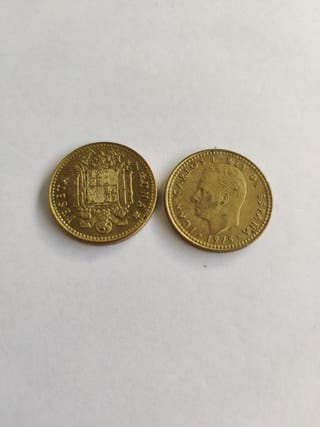 1 peseta Juan carlos primero