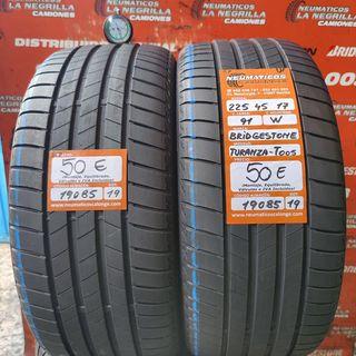 Neumaticos 225 45 17 91W Bridgestone. Ref 19085