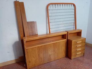 Conjunto de mueble dormitorio individual