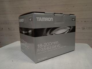 TAMRON 18-200 F3.5-6.3 DI II VC CANON