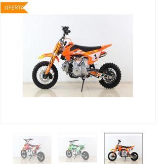 Mini moto Cross 110cc sin marchas iniciación