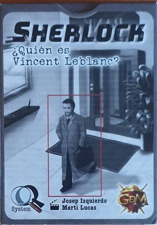 Sherlock ¿Quién es Vincent Leblanc? juego de mesa