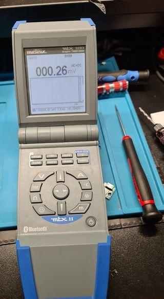 Polimetro Digital Osciloscopio