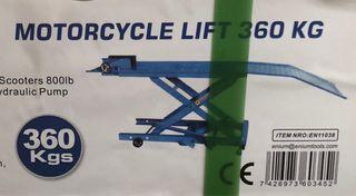 Elevador de motos hidráulico 360 kg