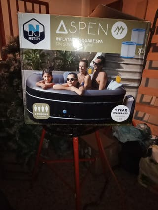 Vendo spa hinchable 4 personas