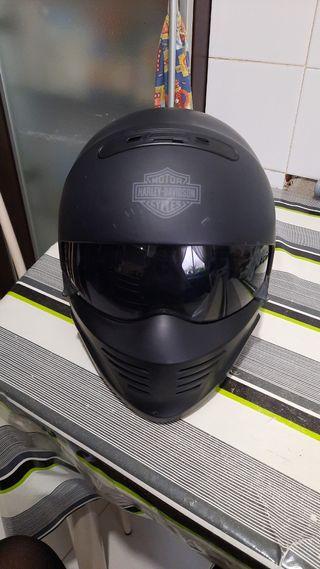 Casco moto Harley