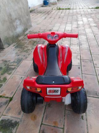 mini moto de batería