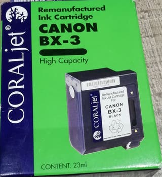 Cartucho tinta CANON BX-3