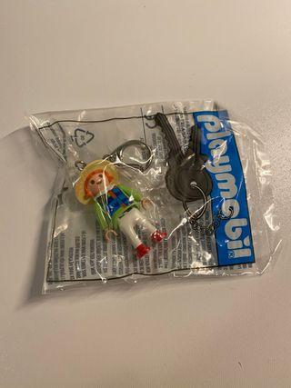 Playmobil llavero niña en bolsa cerrada