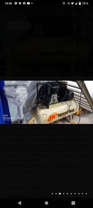 compresor industrial de aire comprimido