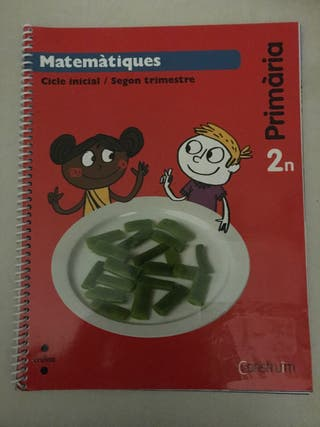 Llibres Matemàtiques 2n Primària