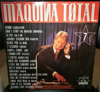 DISCO VINILO MÁQUINA TOTAL 2 LP X 2 MAX MUSIC 1994