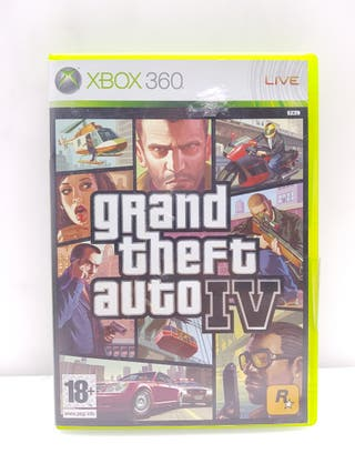 Videojuego XBOX 360 GTA IV