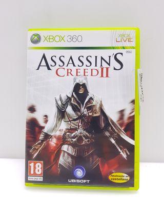 Videojuego XBOX 360 ASSASSINS CREED II