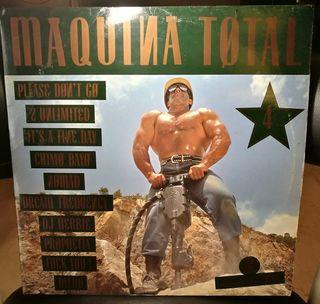 DISCO VINILO MÁQUINA TOTAL 4 LP X 2 MAX MUSIC 1992
