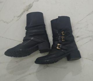 botas piel Uterque