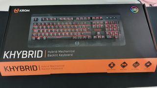Teclado gamer Krom Hybrid