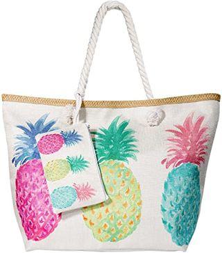 MOOKLIN Bolsa de Playa de Lona Grande niña Mu