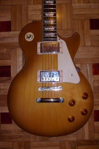 Epiphone Les Paul plain top en honey burst Gibson