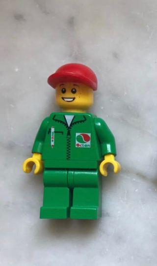 LEGO MINIFIGURA CLASSIC WORKER OCTAN ORIGINAL