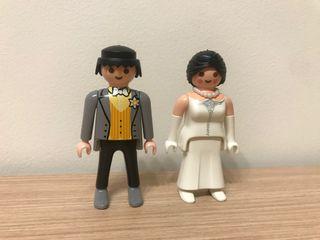 Pareja novios boda Playmobil