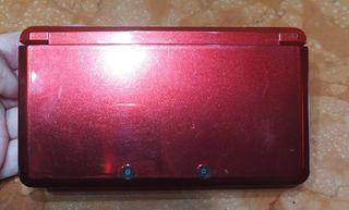 Nintendo 3DS Rojo Metalizado.