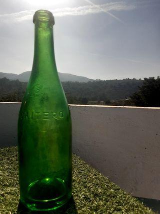botella sidra el gaitero
