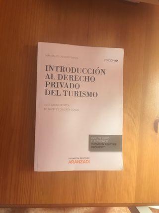 INTRODUCCIÓN AL DERECHO PRIVADO DE TURISMO.