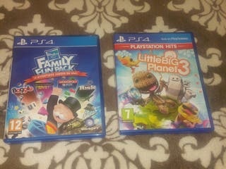 Juegos PS4 Little BIG Planet3 y Family Fun Pack