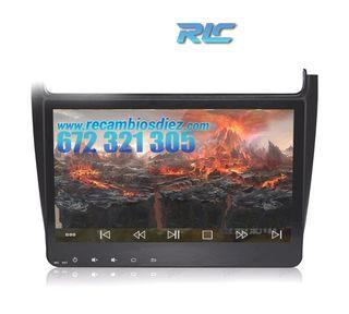 RADIO NAVEGADOR GPS ANDROID 8,0 VOLKSWAGEN POLO (2