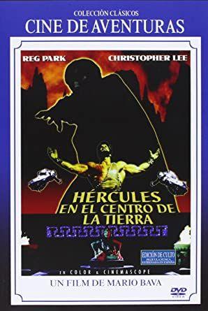 Hercules en el centro de la tierra [DVD NUEVO] -