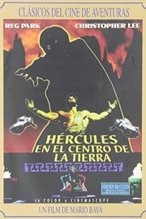 Hercules en el centro de la tierra [DVD NUEVO]