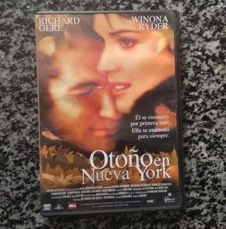 DVD Otoño en Nueva York / Joan Chen