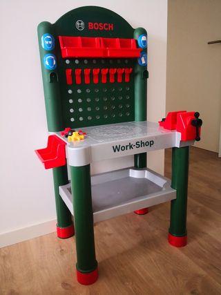 Banco herramientas niño