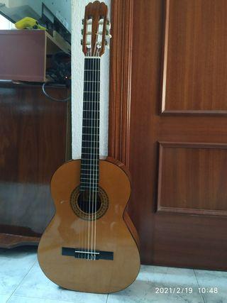 Guitarra española zurdo.