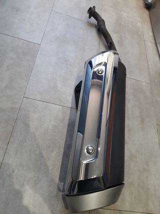 Tubo de escape Suzuki burgman 400, regalo espejos