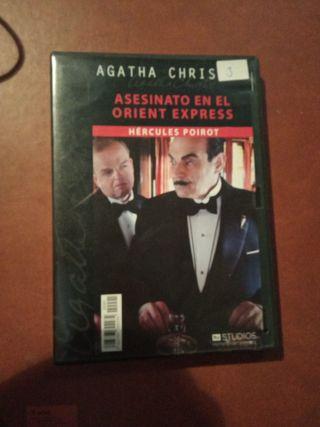 DVD pelicula Agatha Christie