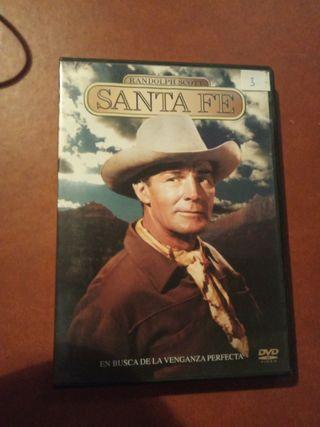 DVD pelicula Oeste. Santa fe