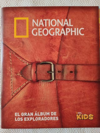 ALBUM COMPLETO. NATIONAL GEOGRAPHIC.