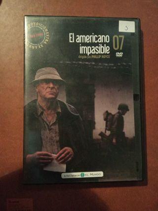 DVD pelicula El americano impasible